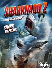 Акулий торнадо 2 / Sharknado 2: The Second One (2014) HDRip